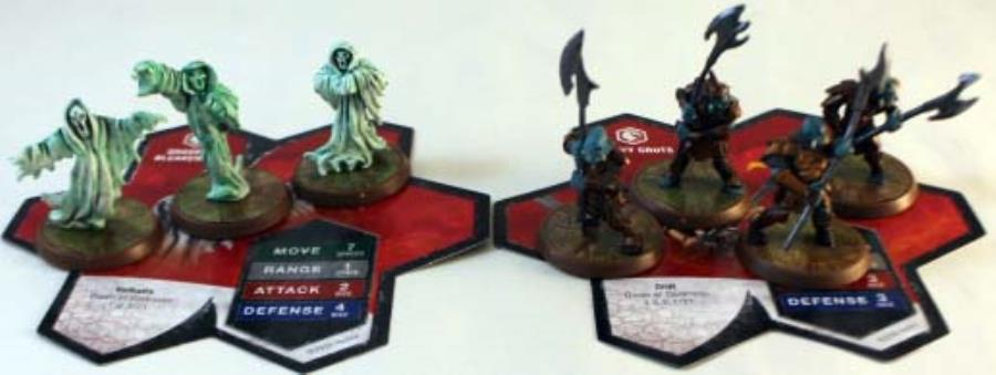 Wave 6 Dawn Of Darkness Shades Orcs Heroscape Loose Figure