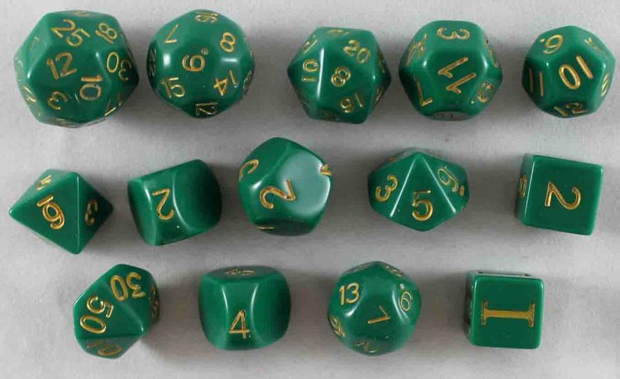 Chuck's Lucky Dice (14) - RPG - Noble Knight Games