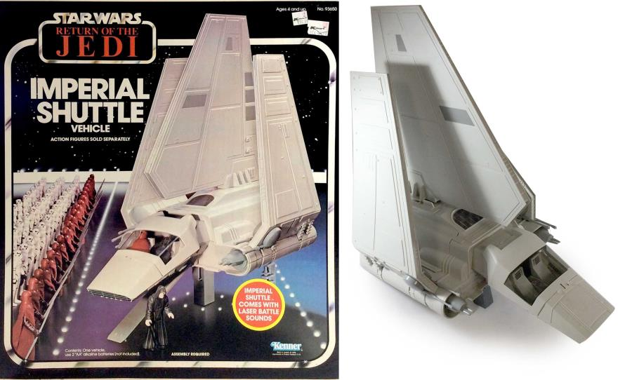 Return of the Jedi - Imperial Shuttle - Star Wars - Noble Knight Games