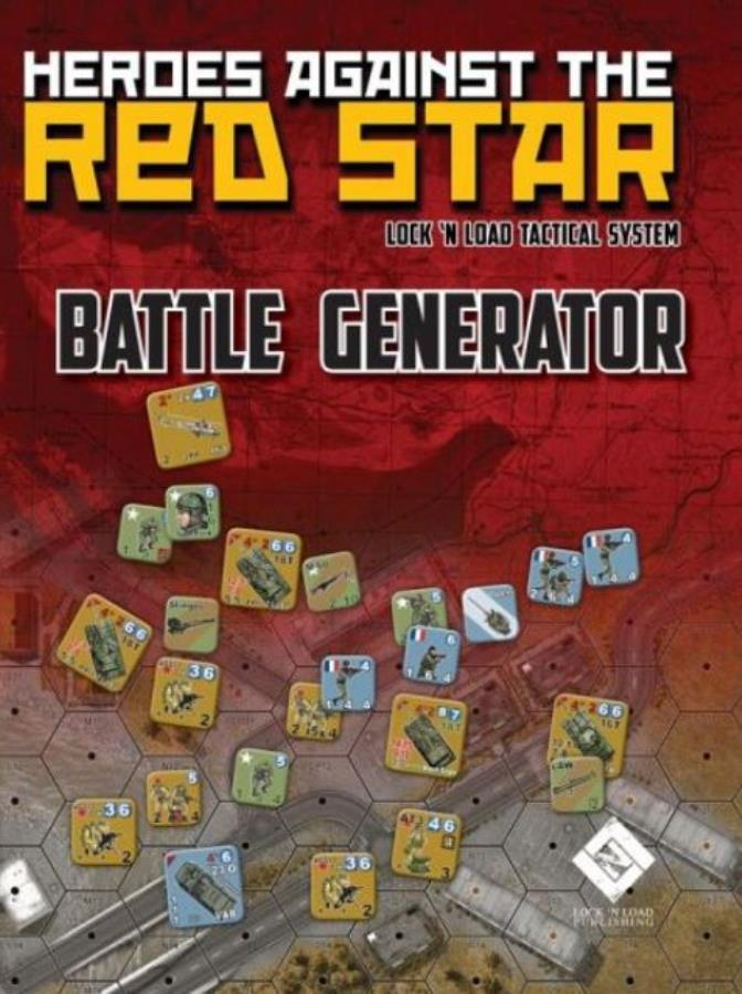 Heroes Against The Red Star - Battle Generator - Wargame