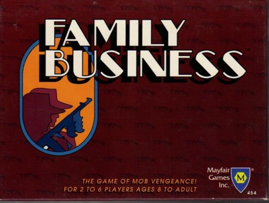Family Business 2nd Edition Cardgame Noble Knight Games