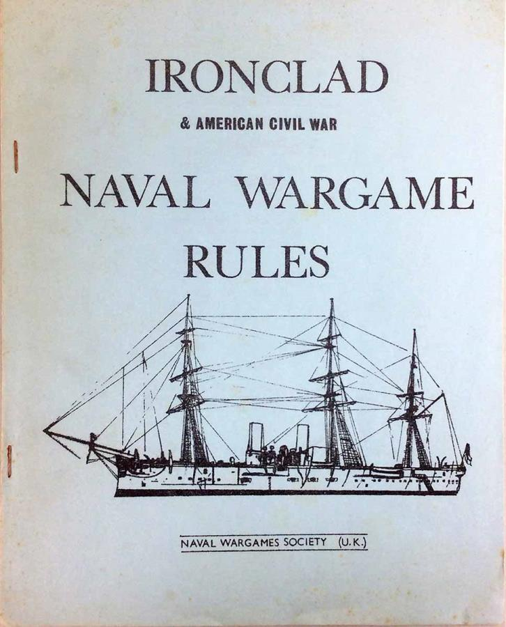 Ironclad & American Civil War Naval Wargame Rules - Mini