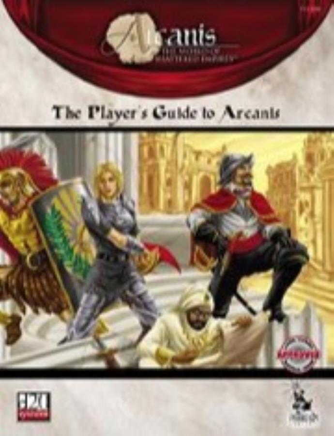 View players guide to arcanis pf.