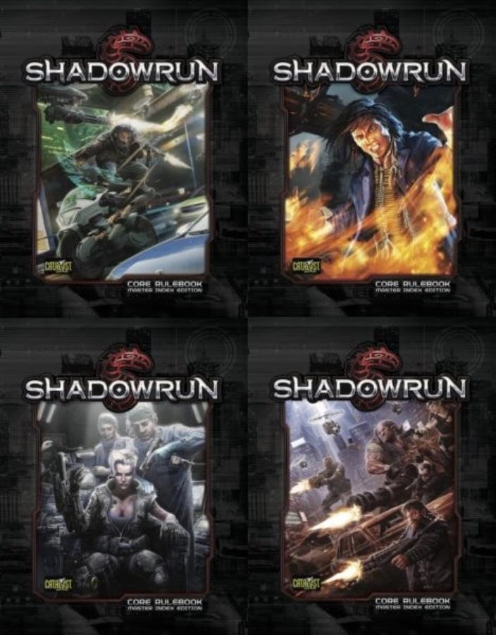 Shadowrun (5th Edition, 2nd Printing, Variant Cover w/Master Index)