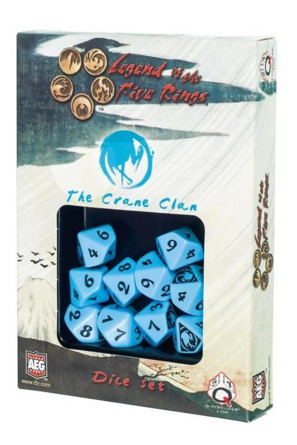 L5R Dragon Clan Dice Set Q-Workshop