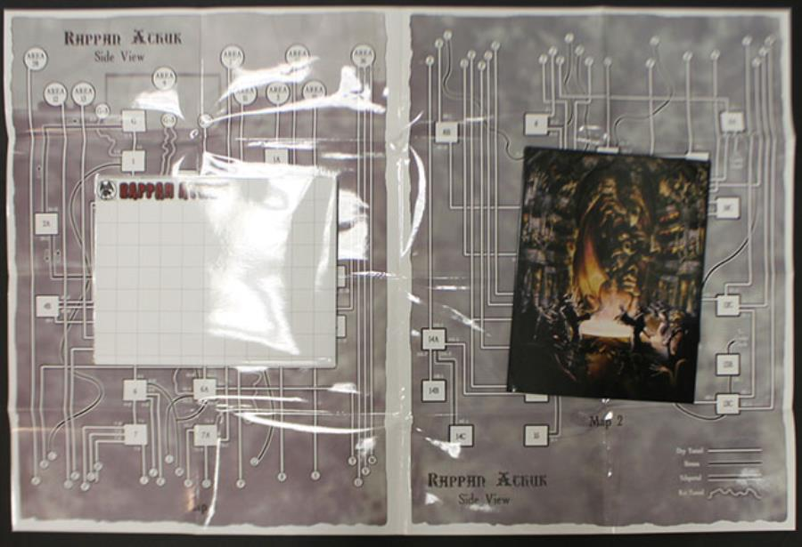 Rappan Athuk - MEGA Pack (w/PDF's) (Pathfinder) - Rappan