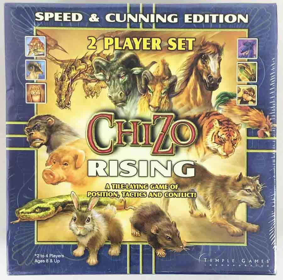 ChiZo Rising: Speed & Cunning board game