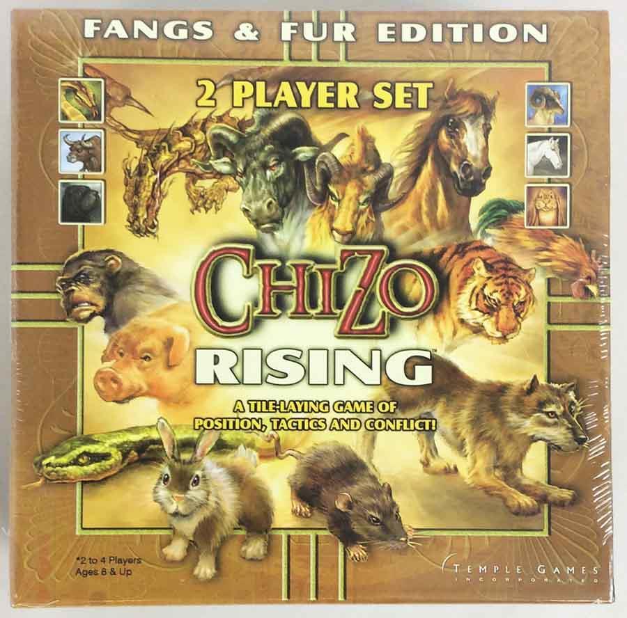 ChiZo Rising: Fangs & Fur Edition board game