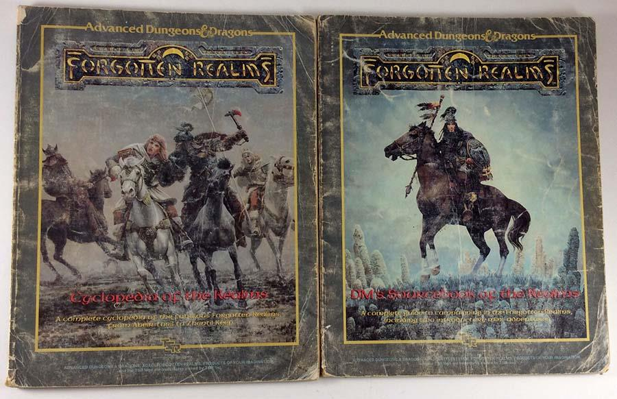 Forgotten Realms Campaign Setting (1st Edition) - Books Only!