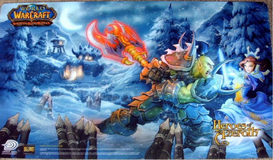 Heroes of Azeroth - Playmat