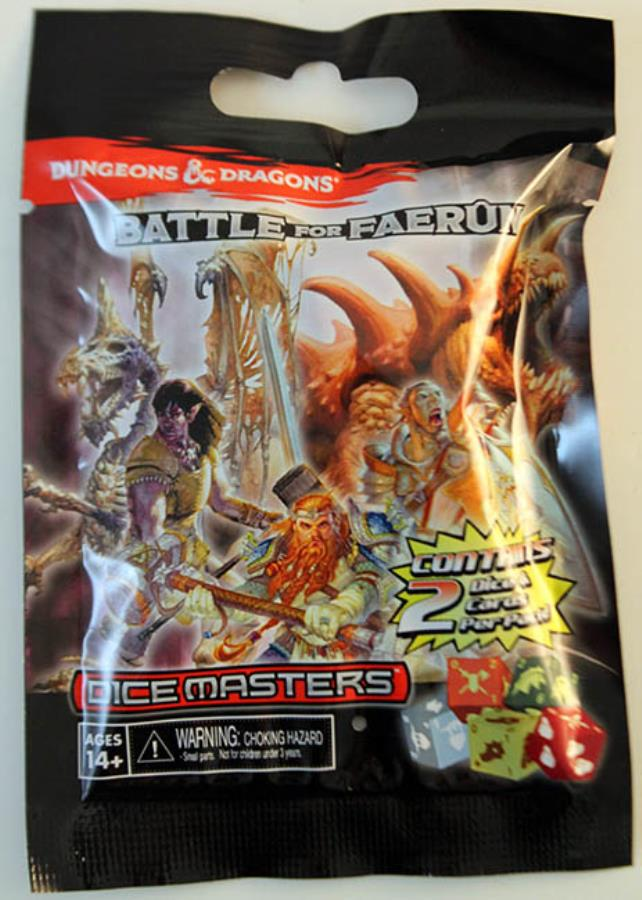 Battle for Faerun Booster Pack - Dice Masters D&D Dice