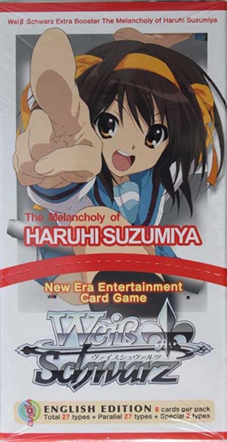 Weiss Schwarz The Melancholy of Haruhi Suzumiya Booster Box English Edition
