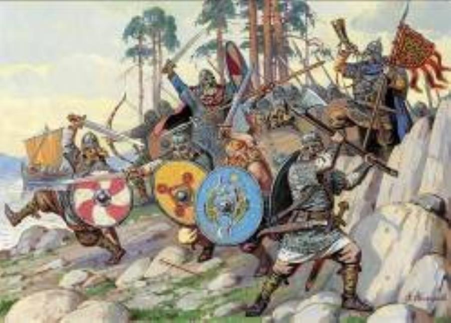Vikings - 900-1100 A  D  - Historical Mini 1/72 - Noble