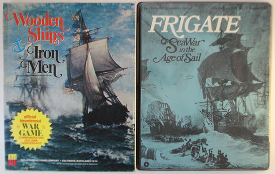 Age Of Sail 2 Pack Frigate And Wooden Ships And Iron Men Flat
