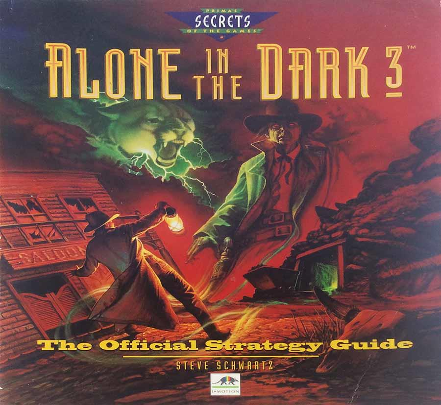 Alone In The Dark 3 The Official Strategy Guide Book Noble Knight Games