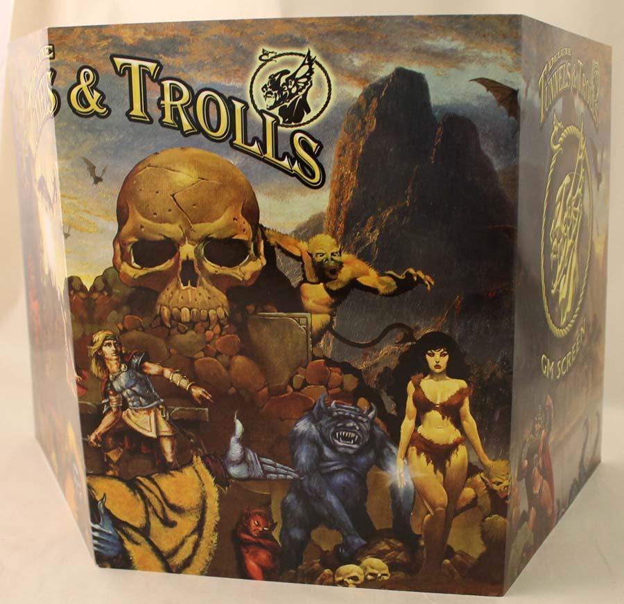 Deluxe Tunnels & Trolls GM Screen - Tunnels & Trolls - Noble
