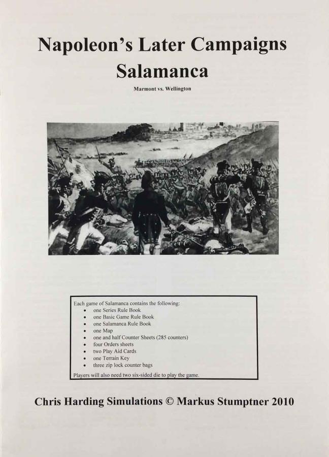 Napoleon's Later Campaigns - Salamanca - Wargame - Noble