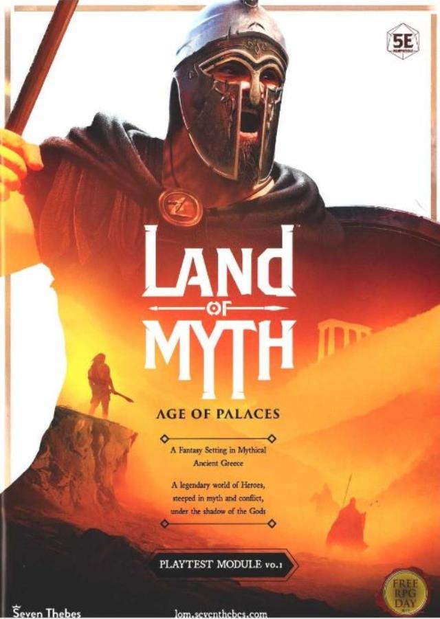 Land of Myth - Age of Places, Playtest Module Vol  1 (Free