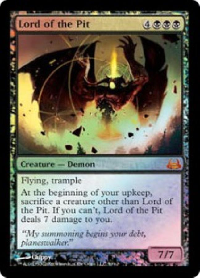 Lord of the Pit (MR) (Foil)