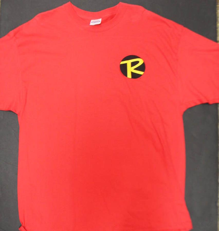 Robin Symbol T Shirt Red Xxl Batman T Shirt Noble Knight Games