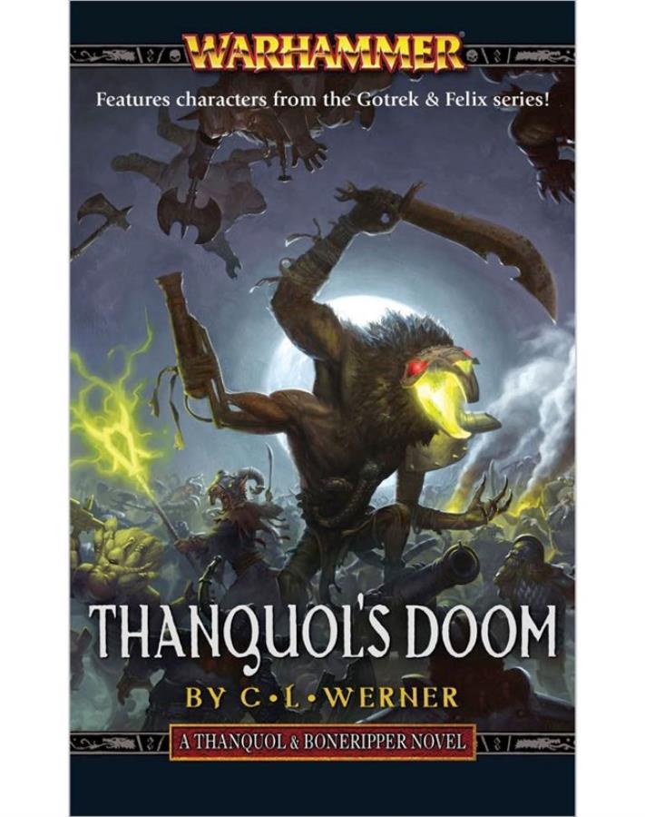 Thanquol's Doom - Warhammer Fantasy Novel - Noble Knight Games