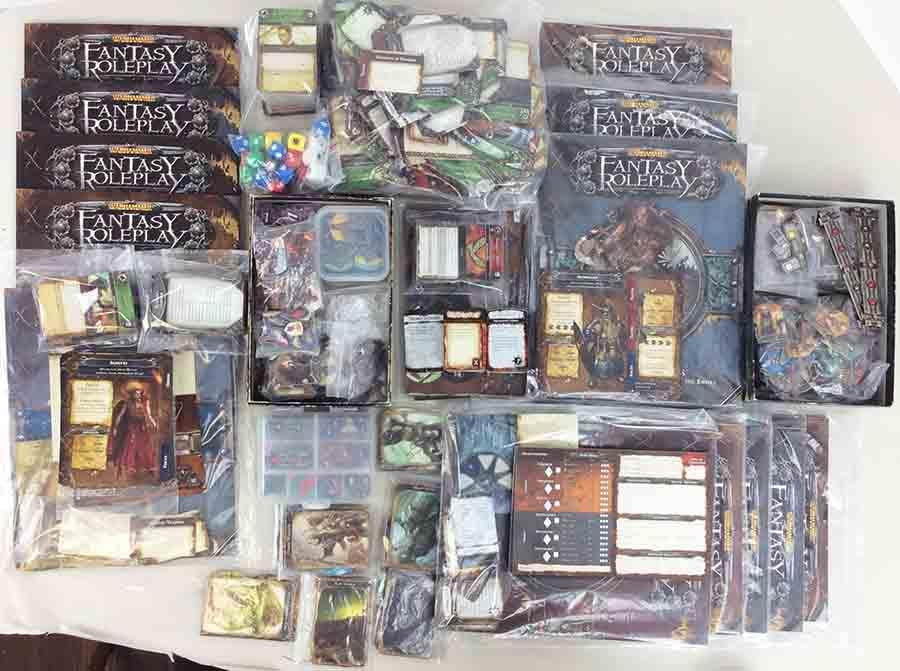 Warhammer Fantasy Roleplay Mega Collection #6 - Core Game + 11 Expansions!