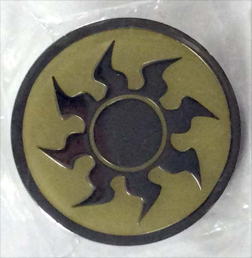 Pin Mtg White Mana Alternate Magic The Gathering Jewelry