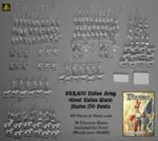 ALT armées bissl FURIOSO itallian armée de la grande italienne  Wars box Comme neuf  produit de qualité d'approvisionnement
