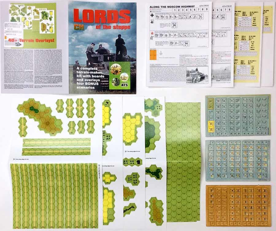 Critical Hit Advanced Tobruk Lords Lords Lords of the Steppe - Terrain Maker Zip MINT bfc19e