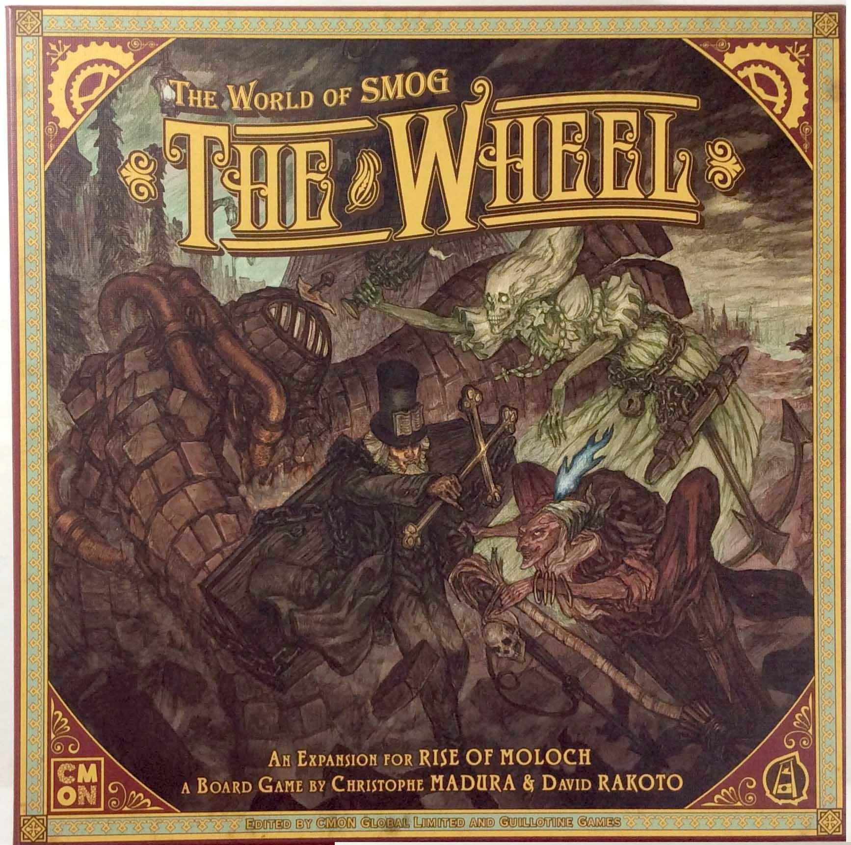 CoolMiniOrNot tavolagioco World of Smog - The The The Rueda w Painted cifras  scatola NM 4f304b
