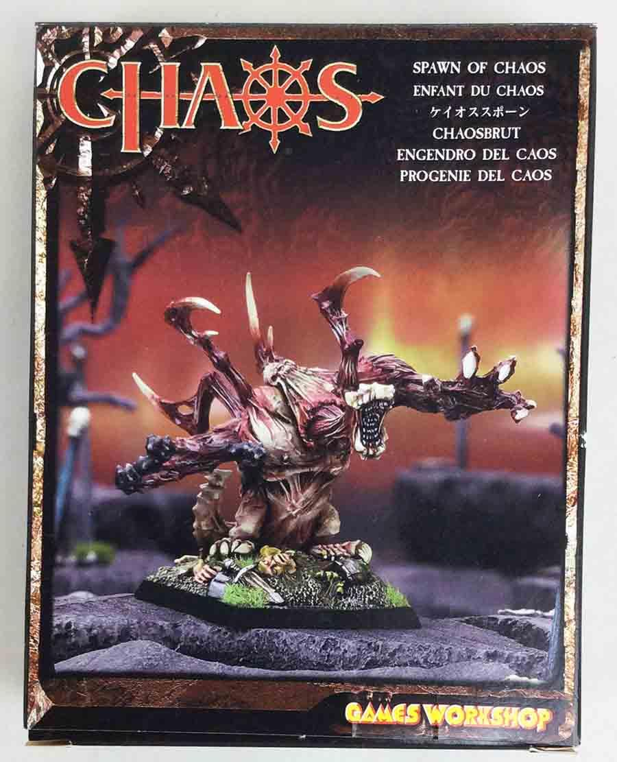 GW WHF Warriors of Chaos Spawn of Chaos Box NM