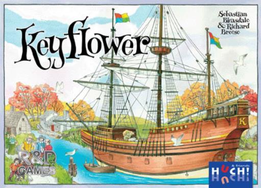 R&D Boardgame Keyflower Box SW