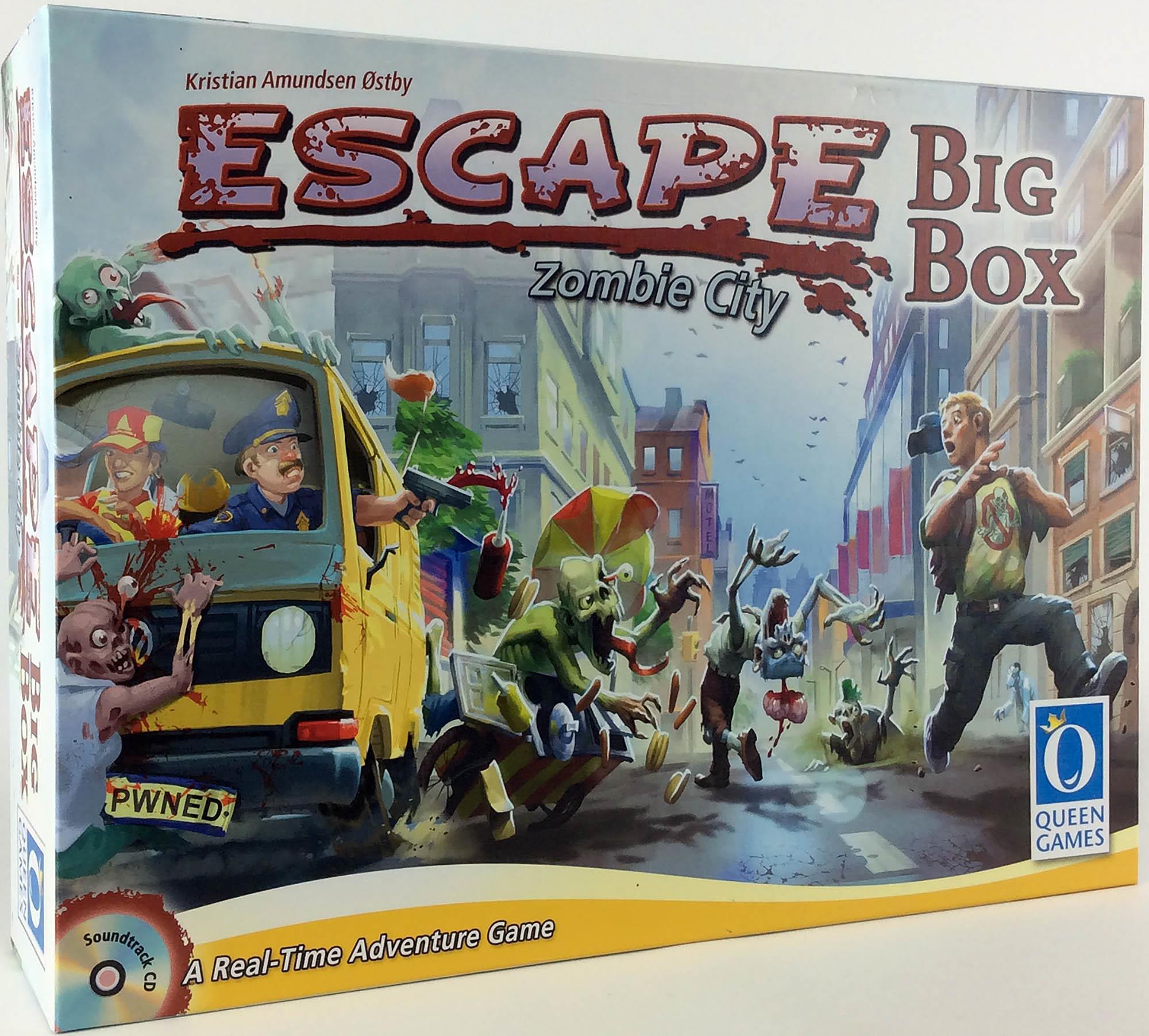 entrega rápida Queen BoardJuego escapar-Zombie escapar-Zombie escapar-Zombie City-Caja Grande Caja De Menta  alto descuento