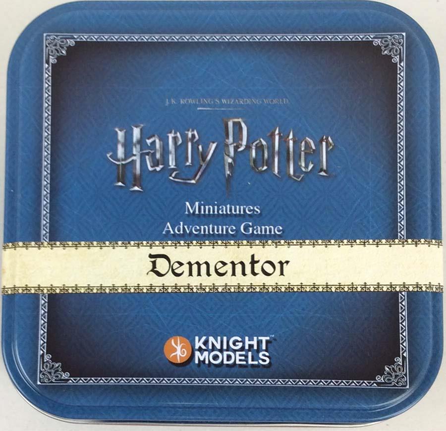 Caballero Modelo Harry Potter Dementor Mini 35m paquete De Aventura (paquete de edición de estaño Casi Nuevo
