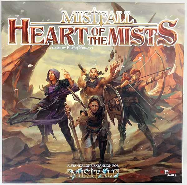 NSKN Games Boardgame Mistfall - Heart of the Mists Collection, Base Game Box NM