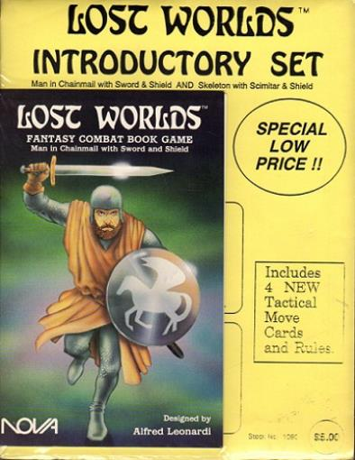 NOVA Lost Worlds Lost Worlds Introductory Set Zip SW