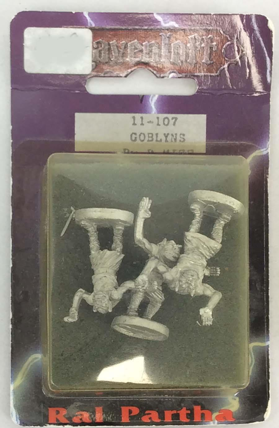 Ral Partha Ravenloft Mini Goblyns Paquete Menta