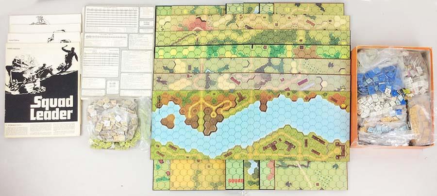 Avalon Hill  Squad Leader Squad Leader completare Collection  5 - tutti 4 giocos  VG  autentico online