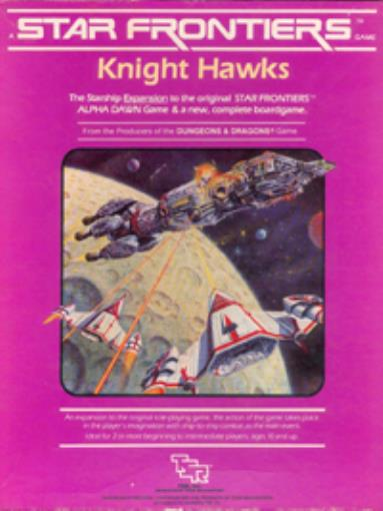 TSR Star Frontiers Knight Hawks Box VG