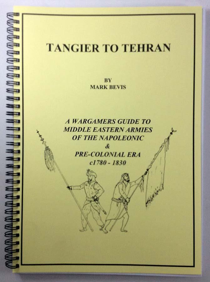 Mark Bevis Minis Rules Tangier to Tehran SC MINT