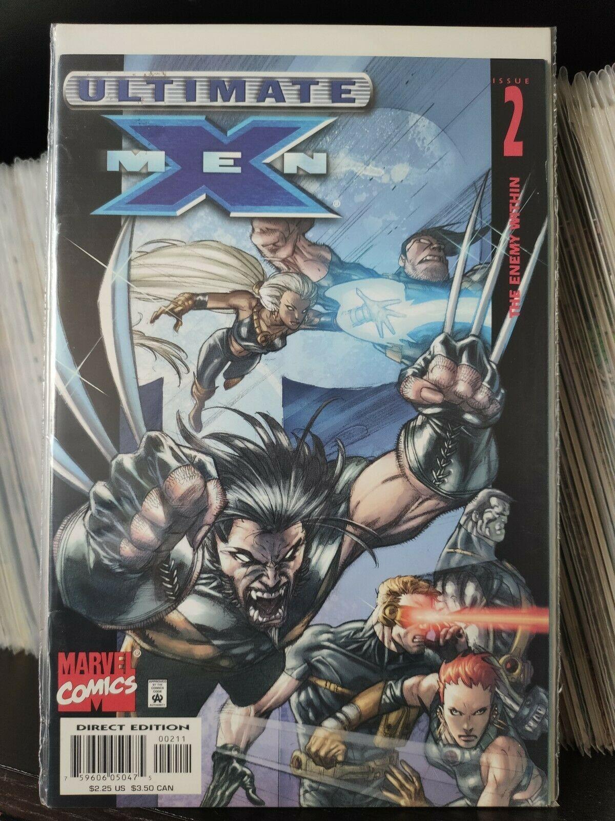 Marvel Comics Ultimate X-Men Ultimate X-men 1st Series #2 NM