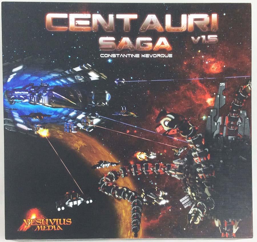 Vesuvius Media tavola giocos Vesuvius Media Centauri Saga  (1.5 edizione) scatola NM  vendita di offerte
