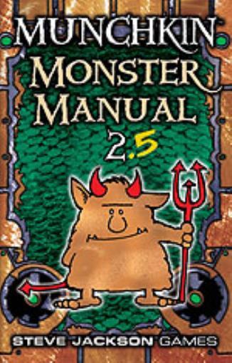 Sjg Munchkin Rpg Monster Manual 2 5 Hc Nm Manual Guide