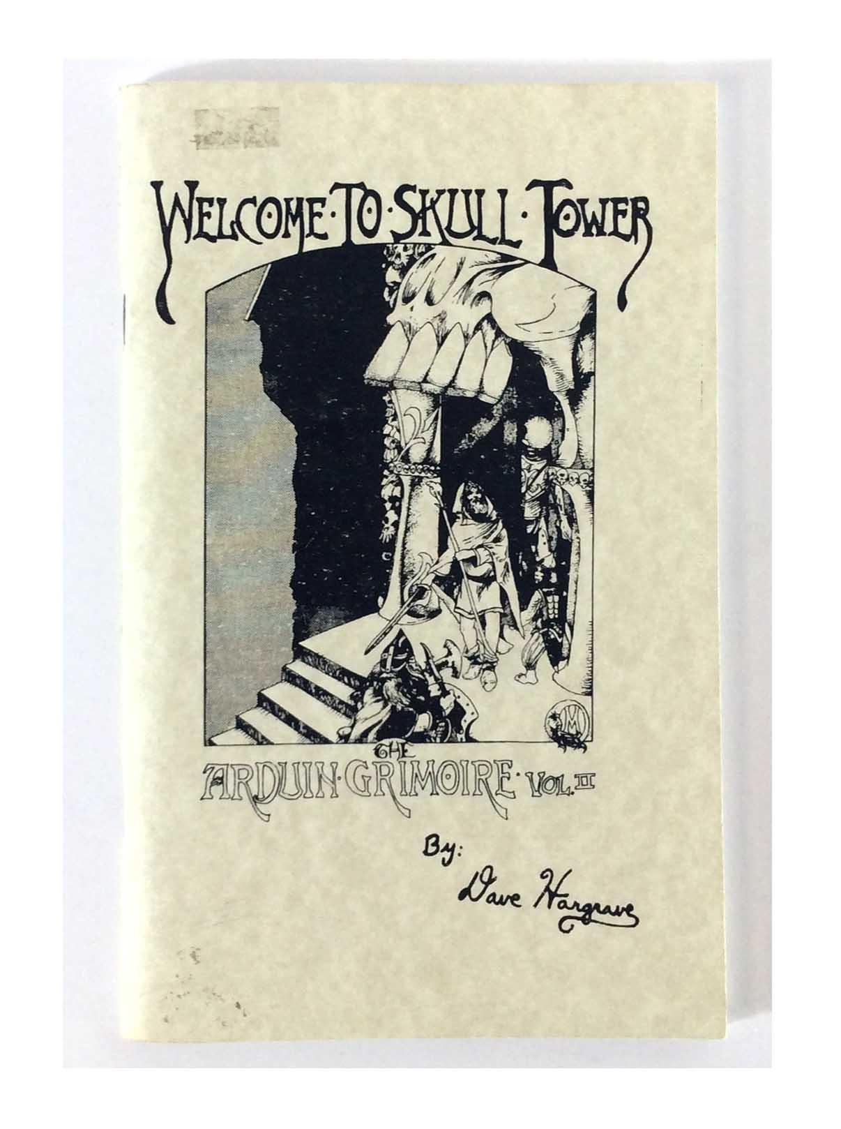 Emperor's  Arduin Arduin Grimoire  2 - Welcome to Skull Tower  Reprint E SC VG+