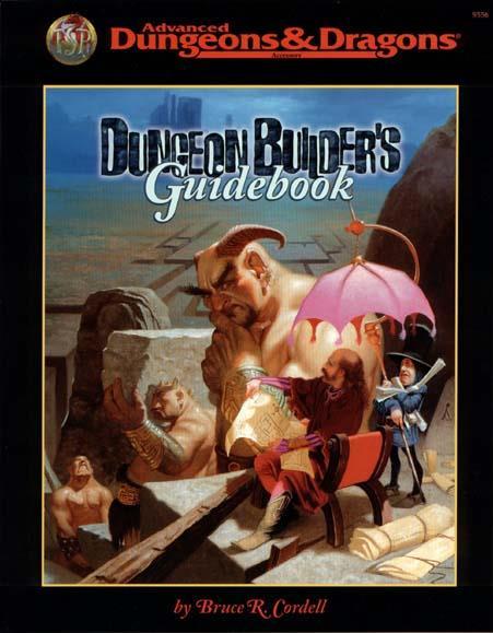 venta al por mayor barato TSR TSR TSR AD&D 2nd edición Dungeon Builder's guía SC SW  autorización